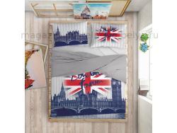 Комплект постельного белья 2 спальный Love Me London фото