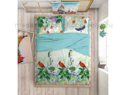 Комплект постельного белья 2 спальный Love Me Tropic фото