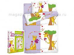 Комплект постельного белья 1.5 спальный детский 511-203 Жираф фото