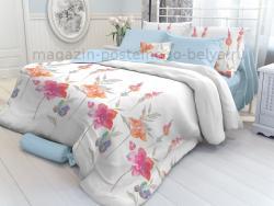 Комплект постельного белья 1.5 спальный Verossa Перкаль 541-2016-70 ColorFlowers фото