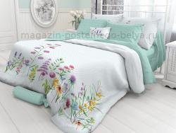 Фото Комплект постельного белья Verossa Перкаль 1.5 спальный 541-2022-70 Shamrock