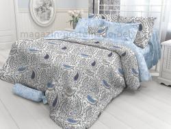 Фото Комплект постельного белья Verossa Перкаль 1.5 спальный 541-2027-70 OrientPaisley