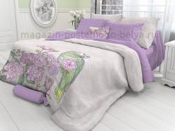 Комплект постельного белья семейный Verossa Перкаль 545-2029 Swain фото
