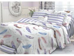 Комплект постельного белья 1.5 спальный Verossa Перкаль 541-2004-50 Plumelent фото