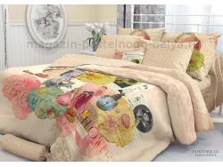 Комплект постельного белья 1.5 спальный Verossa Перкаль 541-2010-50 Portobello фото