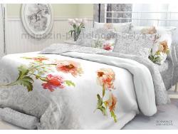Комплект постельного белья 1.5 спальный Verossa Перкаль 541-2011-50 Romance фото