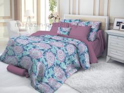Фото Комплект постельного белья Verossa Сатин семейный 565-3004 PersianLotos