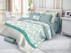 Фото Комплект постельного белья Verossa Сатин семейный 565-3013 Azure