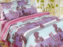Комплект постельного белья семейный Verossa Сатин 565-9254 Karusel фото