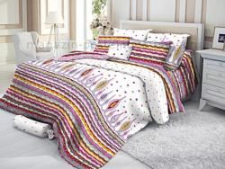 Комплект постельного белья 1.5 спальный Verossa Сатин 561-8238 Paul фото
