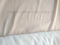 Ткань ситец однотонный 80 см 100 г белый фото