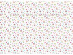 Ткань ситец детский 95 см 100 г Совы фото