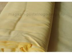 Ткань ситец однотонный 80 см 60 г желтый фото