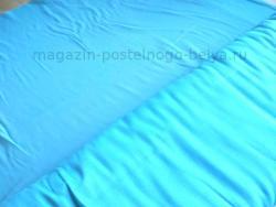 Ткань ситец однотонный 80 см 60 г бирюзовый фото