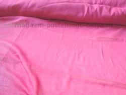 Ткань ситец однотонный 80 см 60 г розовый фото