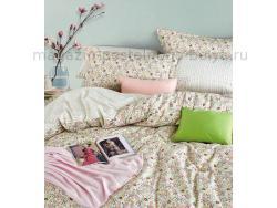 Фото Постельное бельё Танго Сатин 1.5 спальный ts01-x49