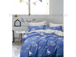 Фото Постельное бельё Танго Сатин 1.5 спальный ts01-x71