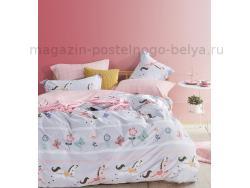 Фото Постельное бельё Танго Сатин 1.5 спальный ts01-x74