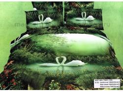 Постельное бельё Танго Сатин 1.5 спальный ts01-18a-70 фото