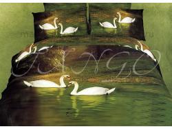 Постельное бельё Танго Сатин 1.5 спальный ts01-21a-70 фото