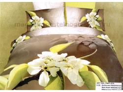Постельное бельё Танго Сатин 1.5 спальный ts01-27a-70 фото