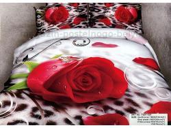 Постельное бельё Танго Сатин 1.5 спальный ts01-42a фото