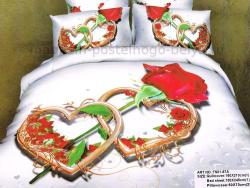 Постельное бельё Танго Сатин 1.5 спальный ts01-67a-70 фото