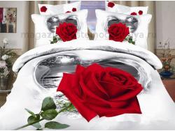 Постельное бельё Танго Сатин 1.5 спальный ts01-750 фото