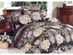 Постельное бельё Танго Сатин 1.5 спальный ts01-928-50 фото