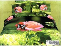 Постельное бельё Танго Сатин евро ts04-05a фото