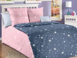 Ткань перкаль 150 детская Звездное небо 1 фото