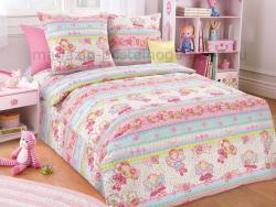 Фото Комплект постельного белья Агата 1 бязь 1.5 спальный детский А1100197481