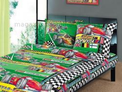 Фото Комплект постельного белья Формула1 2 бязь 1.5 спальный детский А110092362