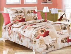 Фото Комплект постельного белья Милый друг 2 бязь 1.5 спальный детский А1100193392