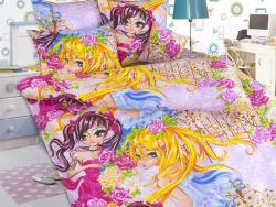 Фото Комплект постельного белья Подружки 1 бязь 1.5 спальный детский А1100190991
