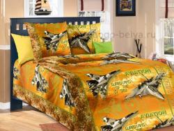 Фото Комплект постельного белья Стражи неба 1 бязь 1.5 спальный детский А1100195821