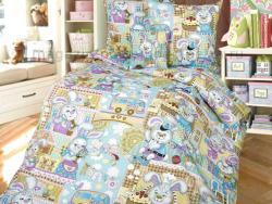 Фото Комплект постельного белья Зайкин город 1 бязь 1.5 спальный детский А110093721