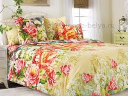 Фото Комплект постельного белья Азалия 1 бязь евро 4100Б195411