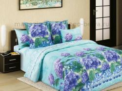 Фото Комплект постельного белья Гортензия 4 бязь евро 4100Б193614