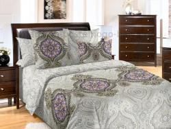 Фото Комплект постельного белья Интрига 3 бязь семейный 6100Б197563