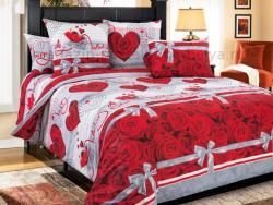 Фото Комплект постельного белья Комплимент 1 бязь евро 4100Б193121