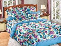 Фото Комплект постельного белья Лазурит 1 бязь семейный 6100Б197321