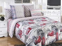 Фото Комплект постельного белья Лондон 1 бязь 2 спальный 3100Б192961