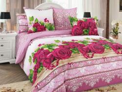 Фото Комплект постельного белья Розы 3 бязь семейный 6100Б196133