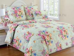 Фото Комплект постельного белья Розовый букет 2 бязь 2 спальный 3100Б197722