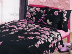 Фото Комплект постельного белья Сакура 1 бязь семейный 6100Б91851