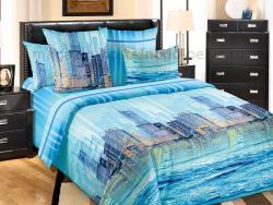 Фото Комплект постельного белья Отражение 1 перкаль 1.5 спальный 1200П197921