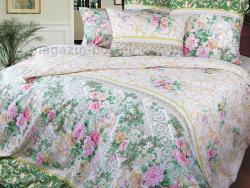 Фото Комплект постельного белья Римский дворик 1 перкаль евро 4200П191251