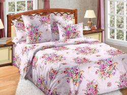 Фото Комплект постельного белья Розовый букет 1 перкаль 2 спальный 3200П197721