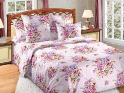 Фото Комплект постельного белья Розовый букет 1 перкаль 1.5 спальный 1200П197721